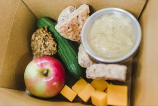Veggie Hummus Box